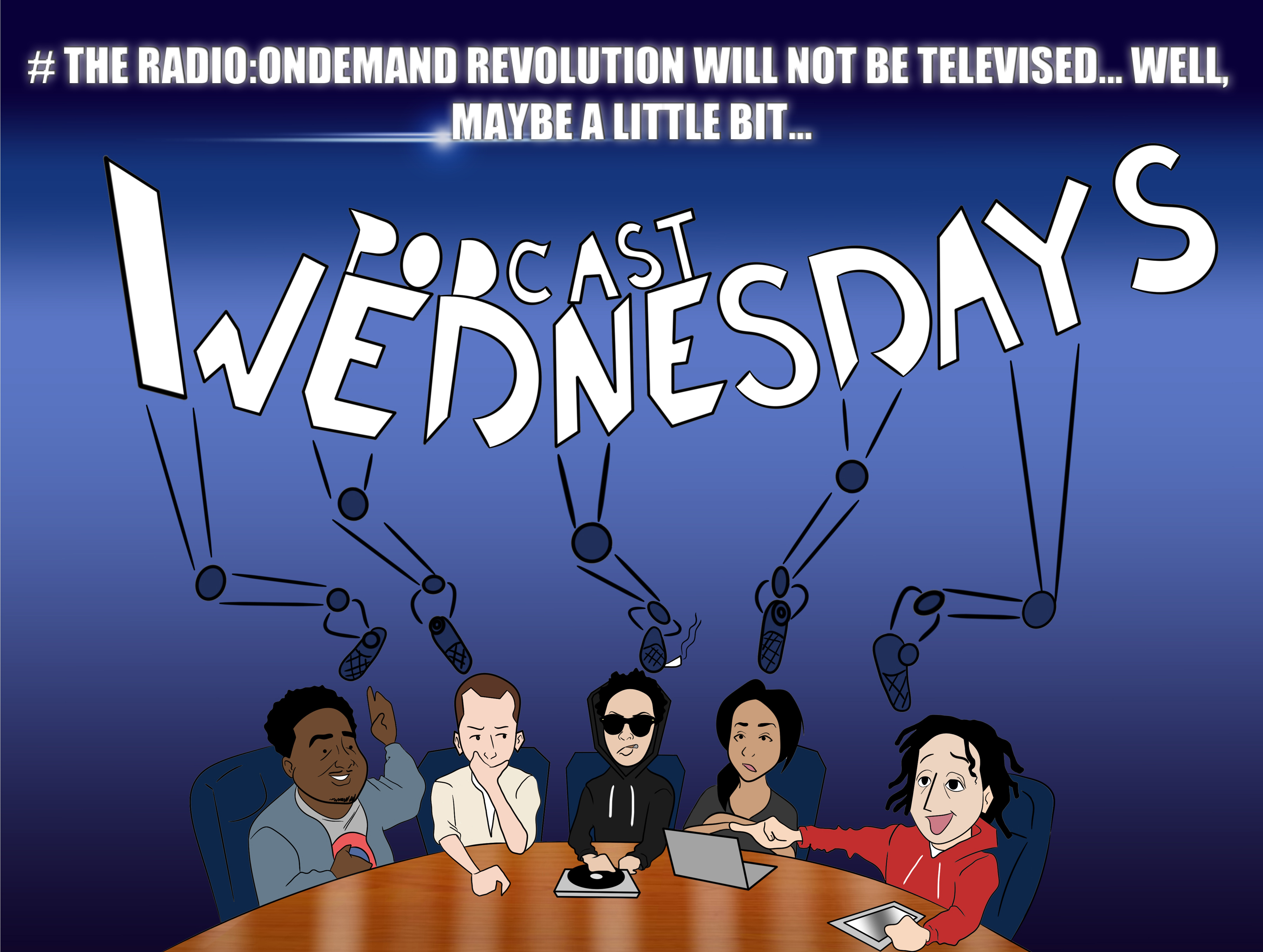 #ThrowbackThursday: #PodcastWednesdays BackstageTakeover w/Wes Manchild & Allison Barrie